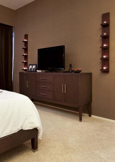 Asian Bedroom by S.I.D.Ltd.