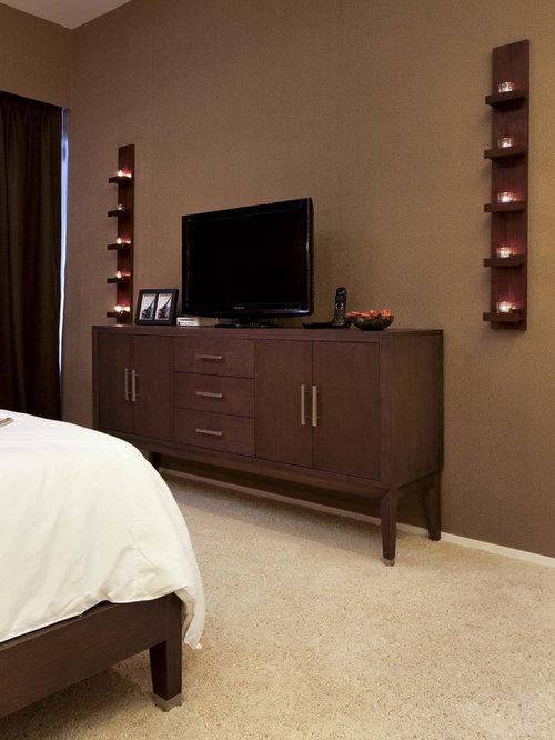 Zen bedroom idea in Hong Kong