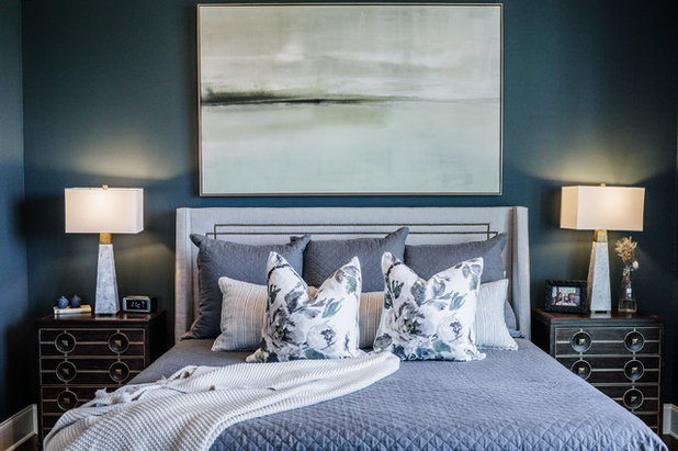 Fusion Bedroom by In Site Designs