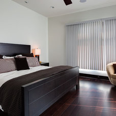 Contemporary Bedroom by Frankel Building Group