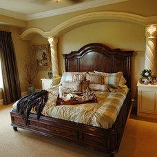 Mediterranean Bedroom by Barenz Builders