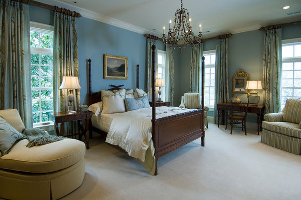 Traditional Bedroom by Mitchell Barnett Architect, PC