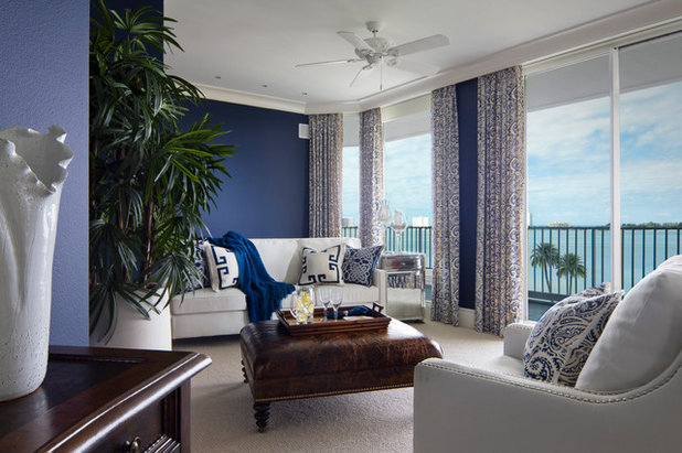 Coastal Bedroom by Dianne Davant and Associates