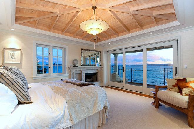 Eclectic Bedroom Bellevue House
