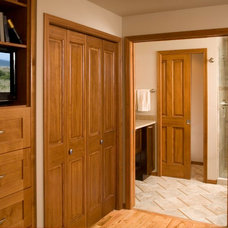 Traditional Bedroom by Riddle Construction and Design