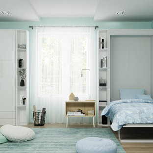 This is an example of a small bedroom in New York.