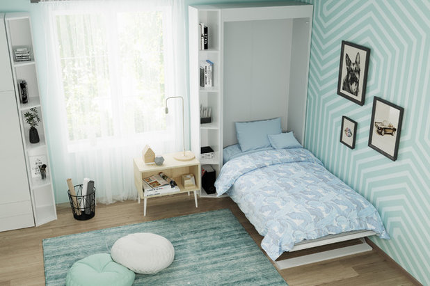 Bedroom by Wall Bed Place