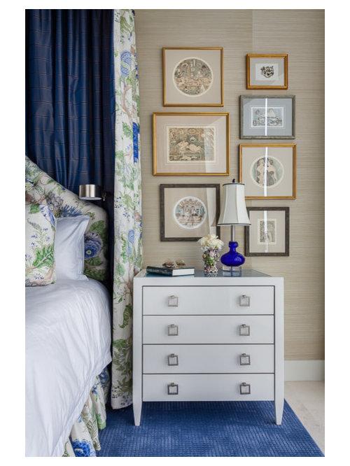 Petite chambre adulte avec un mur vert photos et id es for Idee petite chambre adulte