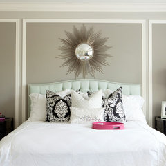 modern bedroom by Belmont Design Group