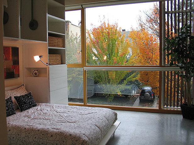 Modern Bedroom by Pangaea Interior Design, Portland, OR