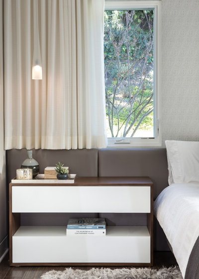 Contemporary Bedroom by A.S.D. Interiors - Shirry Dolgin, Owner