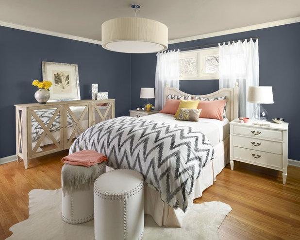 Contemporary Bedroom by Benjamin Moore