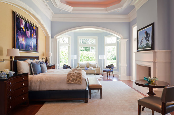 Traditional Bedroom by Harwick Homes