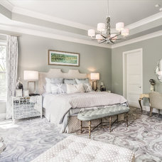 Transitional Bedroom by Eric Ross Interiors, LLC