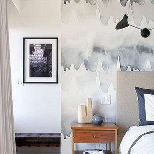 Immagine di una camera da letto moderna