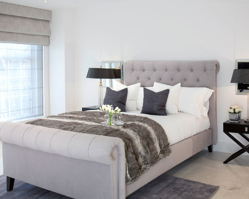 Traditional Bedroom Designs enlarge Photo Of A Traditional Master Bedroom In London With White Walls