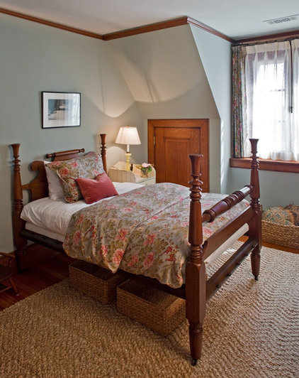 Farmhouse Bedroom by Giambastiani Design