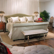 Eclectic Bedroom by Causa Design Group