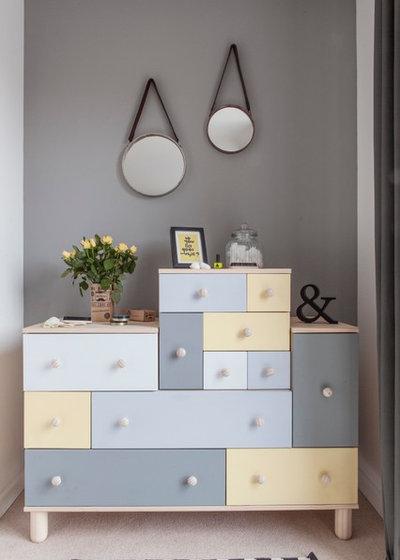 Eclectic Bedroom by Studio Morton