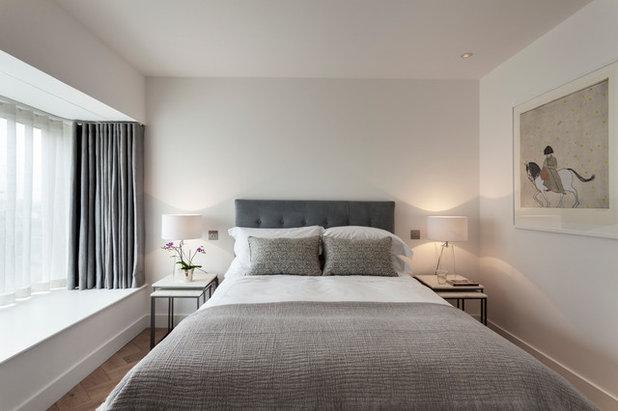 Modern Bedroom by Elizabeth Bowman Ltd