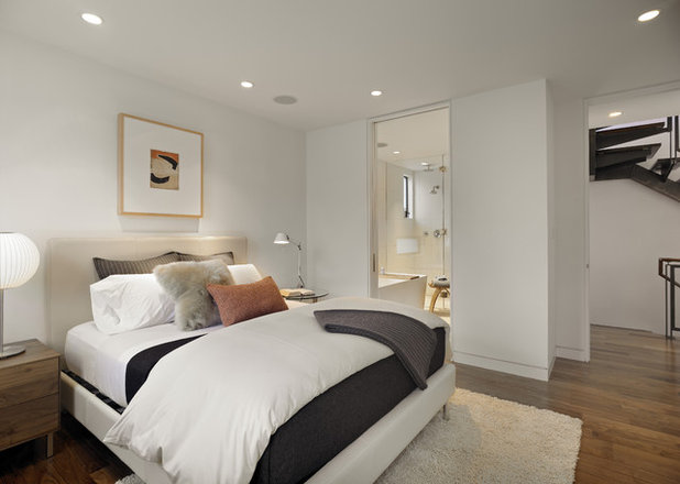 Contemporary Bedroom by Bruce Wright