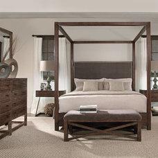 Contemporary Bedroom by Barbara Schaver @ Furnitureland South