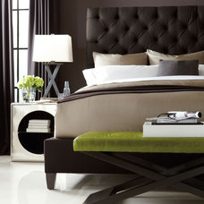 Contemporary Bedroom by Barbara Schaver @ Furnitureland South