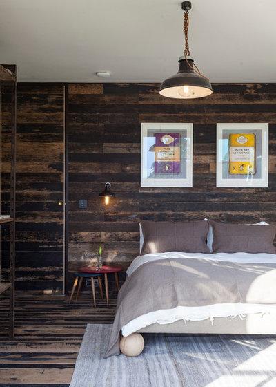 Rustic Bedroom by Chris Snook
