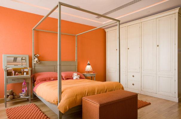 color of the week mango. Black Bedroom Furniture Sets. Home Design Ideas