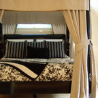 Bespoke Soft Furnishings - Bedrooms - Four Poster Bed Canopy: