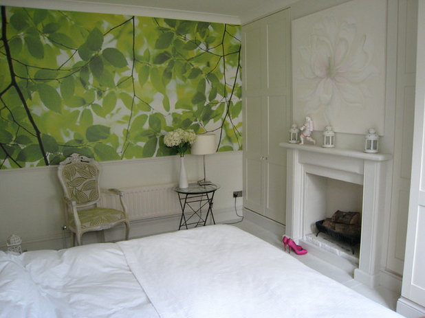 Eclectic Bedroom by G L Design