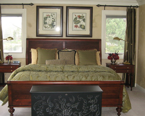 ethan allen bedrooms. Large traditional master carpeted and brown floor bedroom idea in Chicago  with walls Ethan Allen Cayman Bedroom Ideas And Photos Houzz