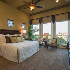 Traditional Bedroom by Meritage Homes