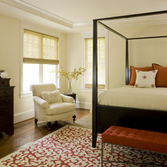 contemporary bedroom by Liz Levin Interiors