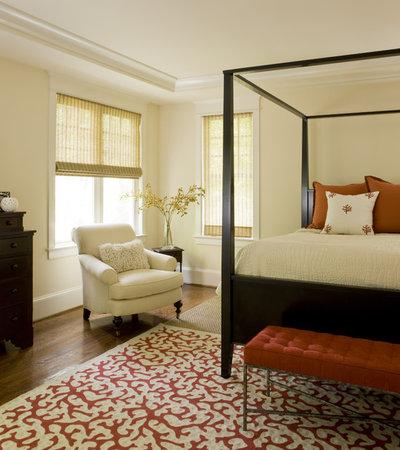 Contemporary Bedroom by Liz Levin Interiors