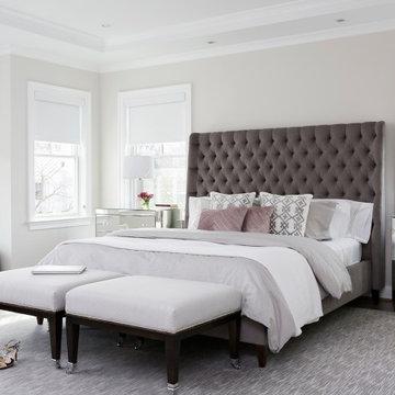 #bethesdaglamfam - Luxurious Master Bedroom