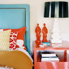 eclectic bedroom by betsy burnham