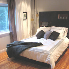 contemporary bedroom by Deborah Derocher