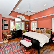 Transitional Bedroom by ADVANCED CONSTRUCTION GROUP LLC