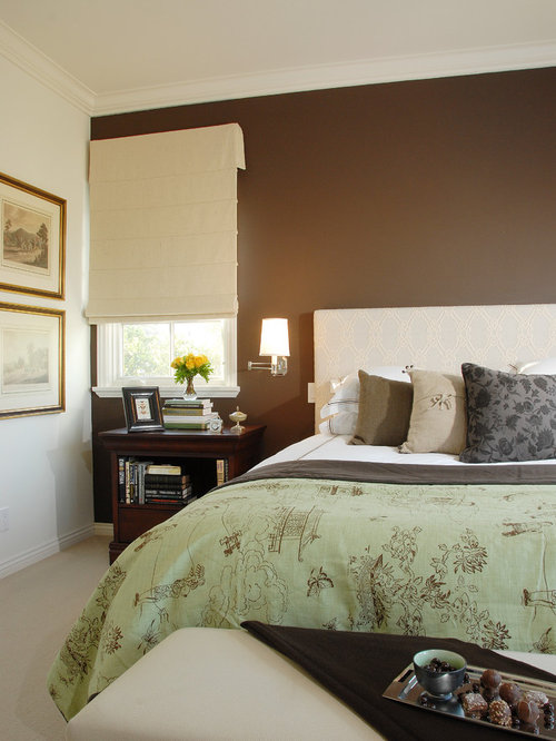 Chocolate Brown And Olive Green Houzz