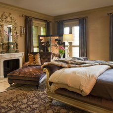 Eclectic Bedroom by Steven Autry Interior Design