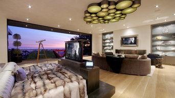 Beverly Hills media room