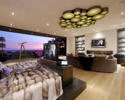 Tv Lift In The Footboard   Houzz