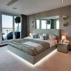 Raynes Park Contemporary Bedroom London By Barnes