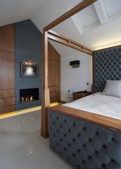 La camera da letto diventa un rifugio per il giorno e la notte