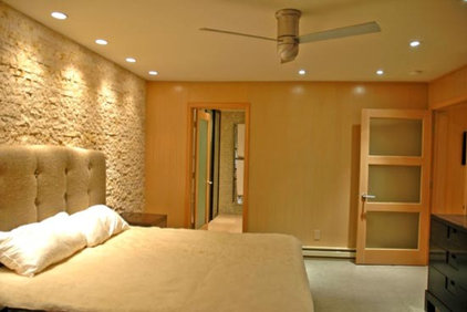 Modern Bedroom by BGI Architects