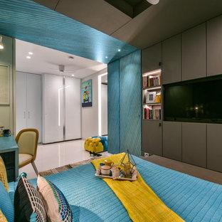 Foto di una camera da letto etnica
