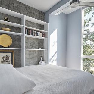 Minimalist bedroom photo in New Orleans