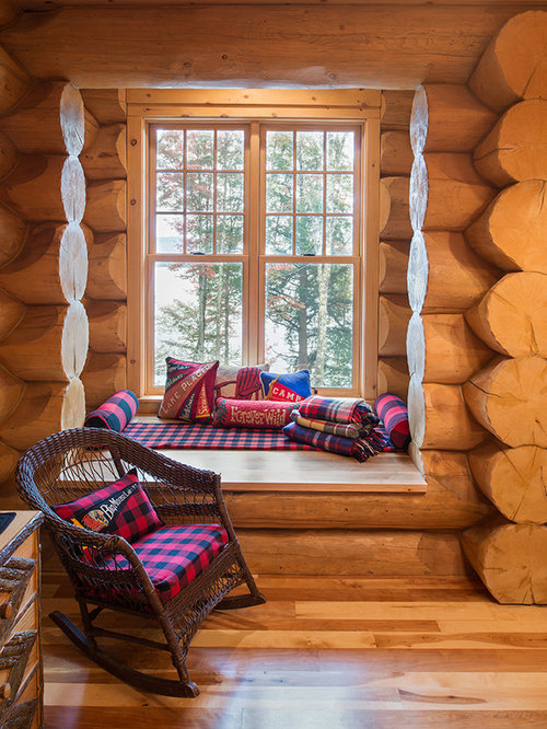 best log homes bedroom design ideas remodel pictures houzz