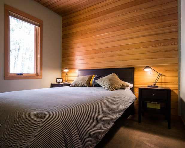 Rustic Bedroom by Johnston Architects